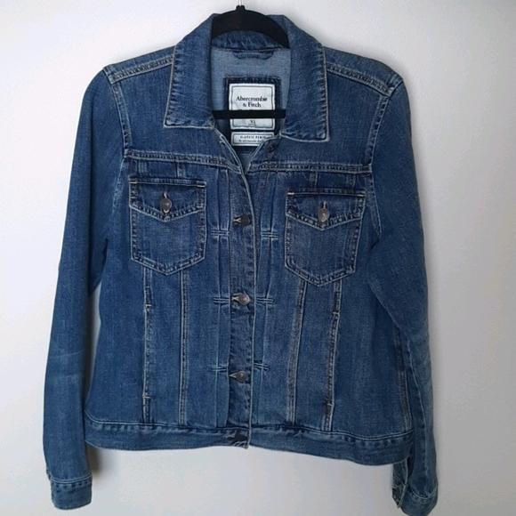 NWT Abercrombie XL Jean/denim jacket